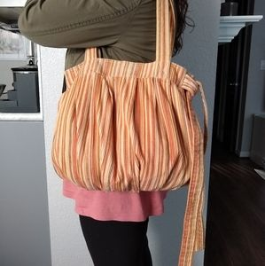 H&M Hobo Bag Multicolored Corduroy